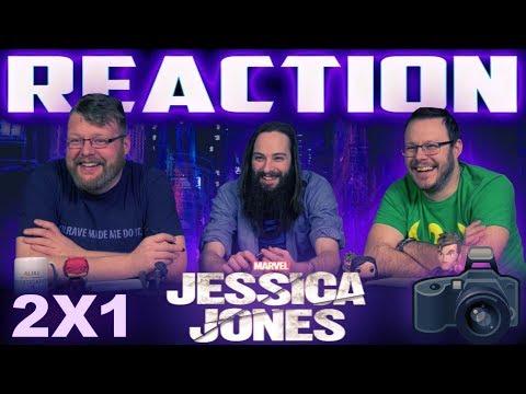 Marvel's Jessica Jones 2x1 REACTION!! 'AKA Start at the Beginning'