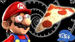 - SMG4 Mario waits for pizza