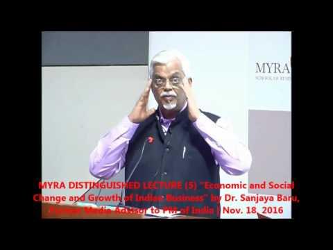 Dr SanjayaBaru @ MYRA