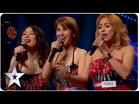 Singing Trio Miss Tres Has Big Surprise | Asia's Got Talent Episode 3