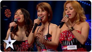 Singing Trio Miss Tres Has Big Surprise | Asia's Got Talent Episode 3 thumbnail