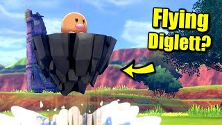 Can Diglett Use Moves That Make It Fly or Jump in Pokémon Sword & Shield?