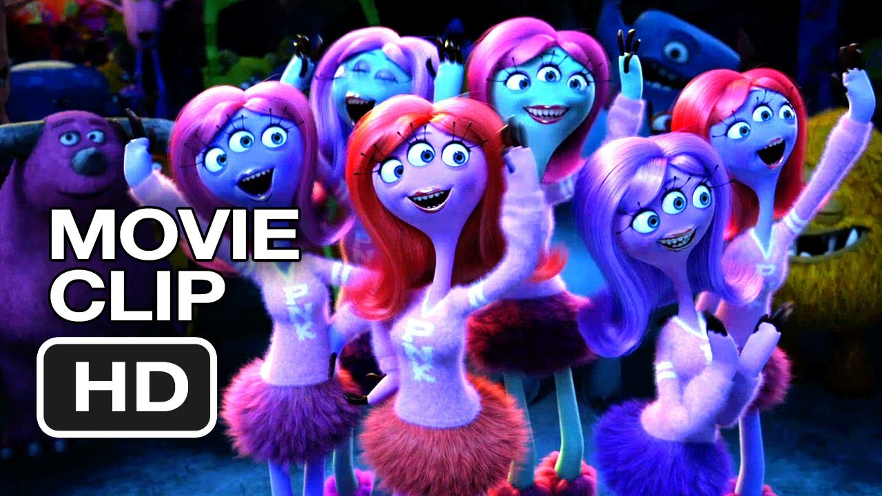 Monsters University Movie Clip Scare Games 2013 Billy Crystal Movie Hd Youtube
