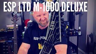 ESP LTD M1000 Deluxe (Metal Guitar Review)