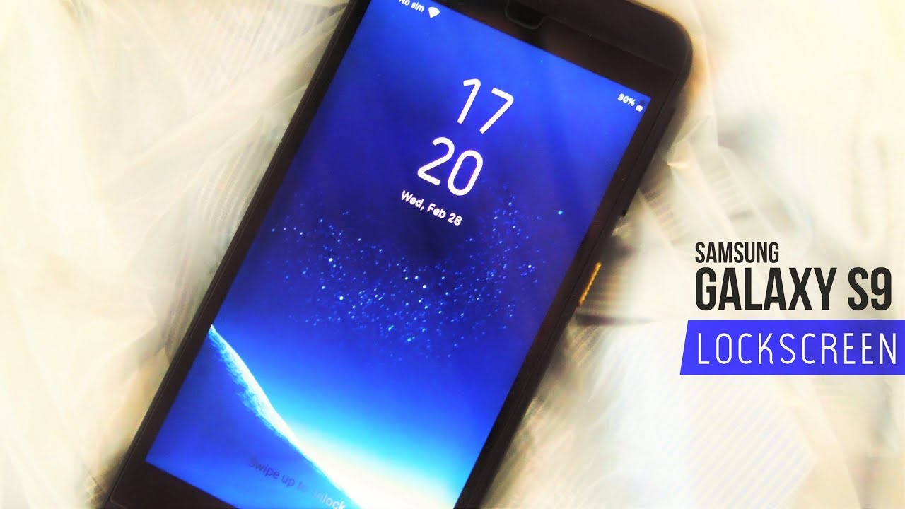 Get Samsung Galaxy S9 lockscreen on any Android phone [How-to]