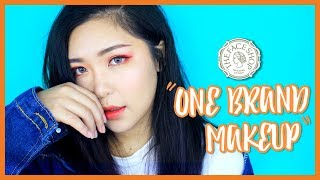 One Brand Makeup Tutorial THE FACE SHOP | theChency