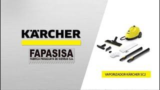 Vaporizadora linea hogar SC 2 Easy Fix - Kärcher FAPASISA Paraguay