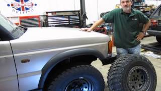 Off-Road Wheel And Tire Info For Discovery Series II