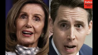 Hawley RIPS Pelosi's proposed Capitol Insurrection investigator at Senate hearing