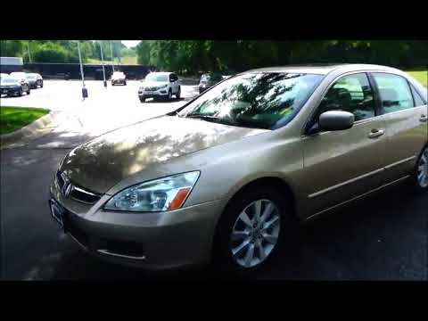 Used 2007 Honda Accord Sedan EX-L V6 for sale at Honda Cars of Bellevue...an Omaha Honda Dealer!