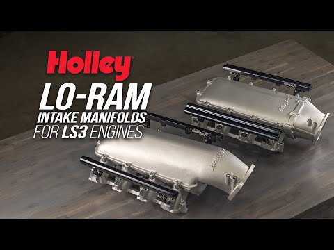Holley's High-Clearance, High-Flow Lo Ram Intake Now Available For LS3 Engines