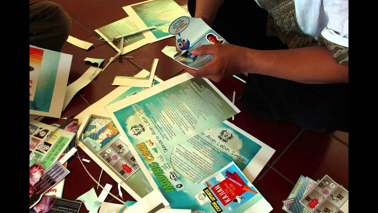 15 Contoh Mading 3D Kreatif