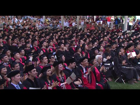 2016 Stanford Graduate School of Business Graduation Ceremon
