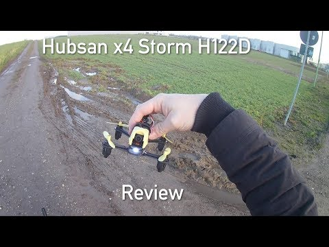 Hubsan x4 Storm H122D Review [German Version]
