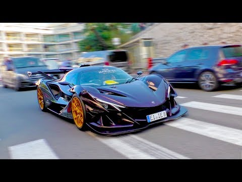 Monaco Madness Supercars during Top Marques 2018 Part 2