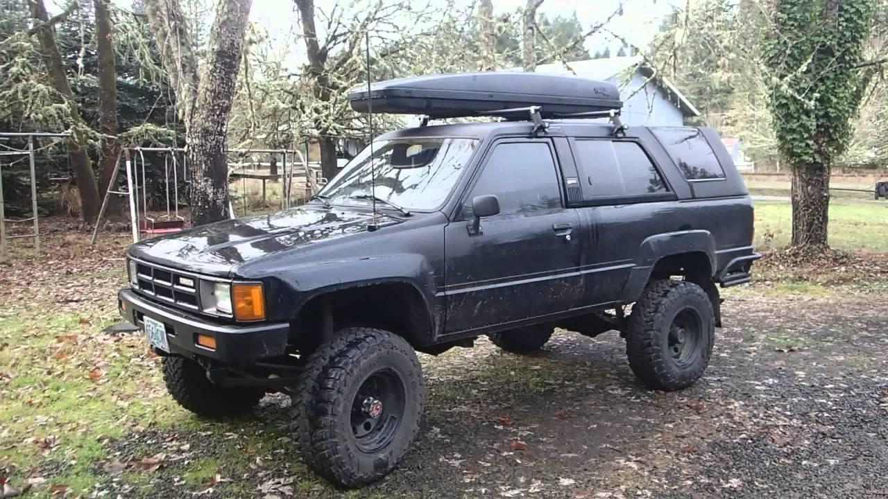 85 Toyota 4Runner - Tire Size Advice - YouTube