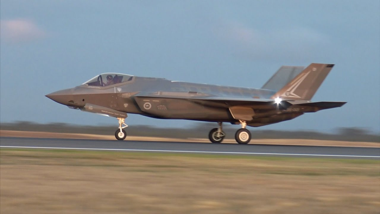 Arizona Air Force Base >> Australia's F35A Lightning II Joint Strike Fighters LOUD ...