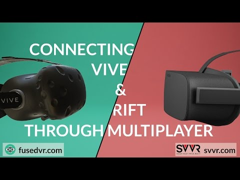 Building a Multiplayer Metaverse with Rift + Vive