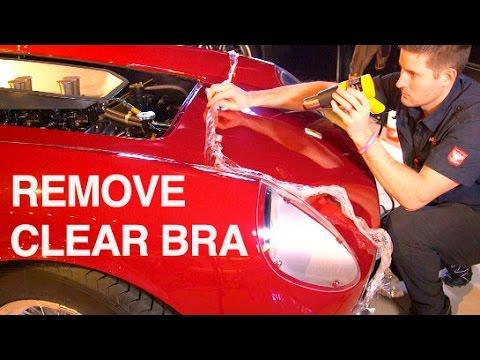 How to Remove Clear Bra: $12M Ferrari 250 GT LWB