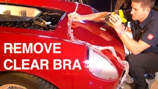 How to Remove Clear Bra: $12M Ferrari