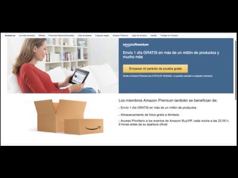 Amazon Prime Gratis - ENVIOS A DOMICILIO GRATUITOS - Ventajas para clientes AMAZON