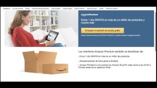 Amazon Prime Gratis - ENVIOS A DOMICILIO GRATUITOS - Ventajas AMAZON Premium
