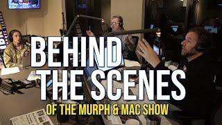 Behind the scenes of KNBR's Murph & Mac Show