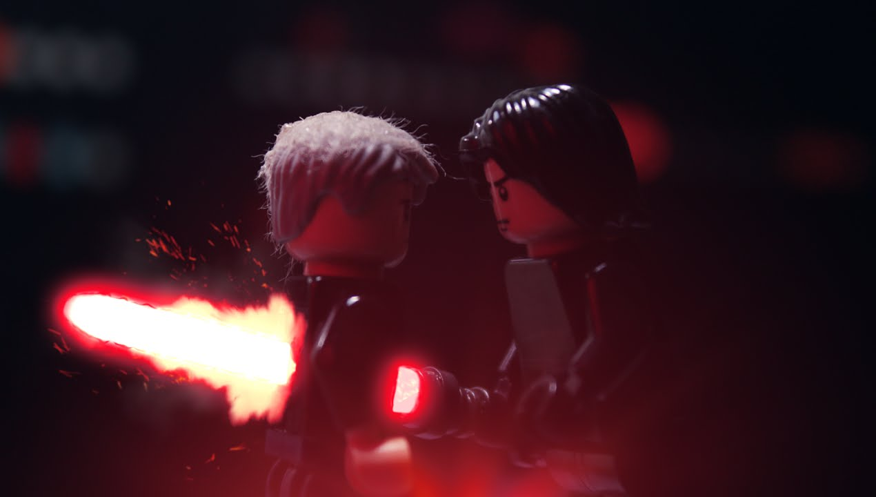 Lego Han Solo Vs Kylo Ren Full Version By WLA RUS YouTube