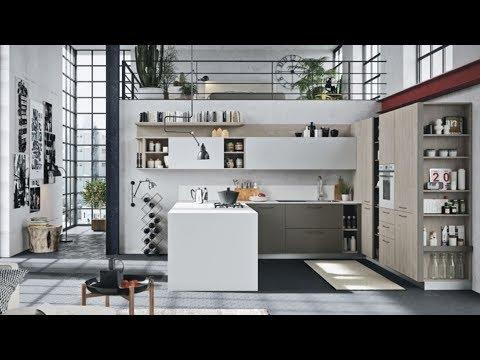 The Sims 4 |  Organic Korean American Loft Apartment! | Speed Build + Download Links