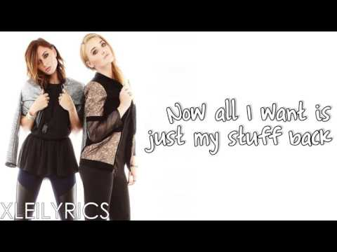 Aly & AJ - Potential Breakup Song (Lyrics Video) HD