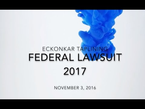 ECKANKAR TAPLINING FEDERAL LAWSUIT 2017