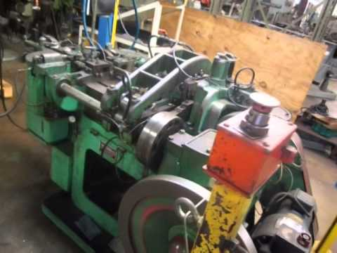 Used Us Baird Four Slide Wire Forming Machine For Sale