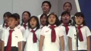 Kimiwonosete – performed by Santa Laurensia Elementary School Choir at Puri Mall West Jakarta Indonesia on Oct 24 2010