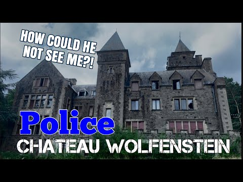 Nearly CAUGHT By POLICE While Exploring An Abandoned Castle At Night | Urbex gone wrong