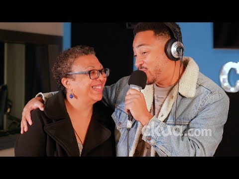 Cadence Weapon performs 'Connor McDavid' / 'My Crew' (Wooo) live at CKUA