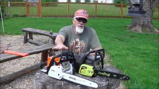 Stihl Ms 180 C-BE review Part 1