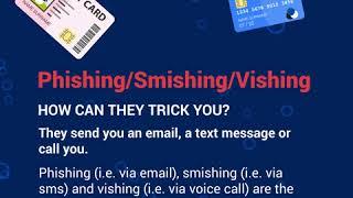 Phishing/Smishing/Vishing