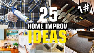25 Home improvement ideas #1