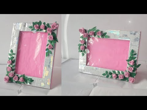 Photo frame DIY Ideas// How TO Make Easy Photo frame At Home/ Easy Paper Craft/