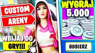 CUSTOMY LATE / SOLO * 5000 V-DOLCOW DO ZGARNIĘCIA  W FORTNITE | hajTv - Na żywo