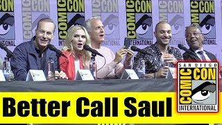BETTER CALL SAUL | Comic Con 2018 Panel (Bob Odenkirk, Rhea Seehorn, Giancarlo Esposito)