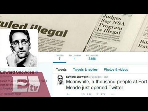 El exempleado de la CIA, Edward Snowden, se hace escuchar en Twitter / Excélsior Informa