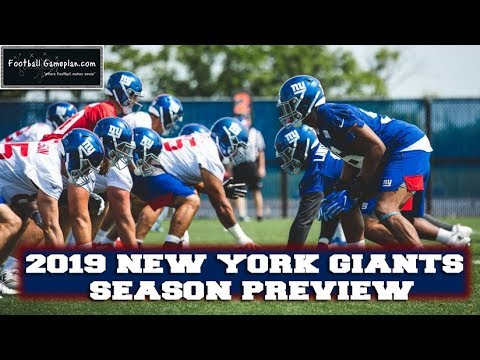Football Gameplan S 2019 Nfl Team Preview New York Giants