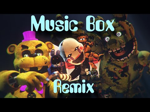 FNaF-SFM & C4D   Music Box Remix COLLAB