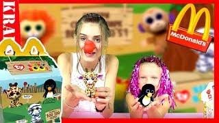 MCDONALD'S Happy Meal Teenie Beanie Boo's SERIA 2! Domowe ZOO UNBOXING   Monia vs Nikola