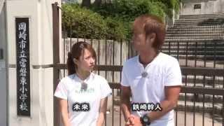 (2014/08月前半放送 starcat ch) 鉄崎幹人さんと未来さんが、名古屋近郊...