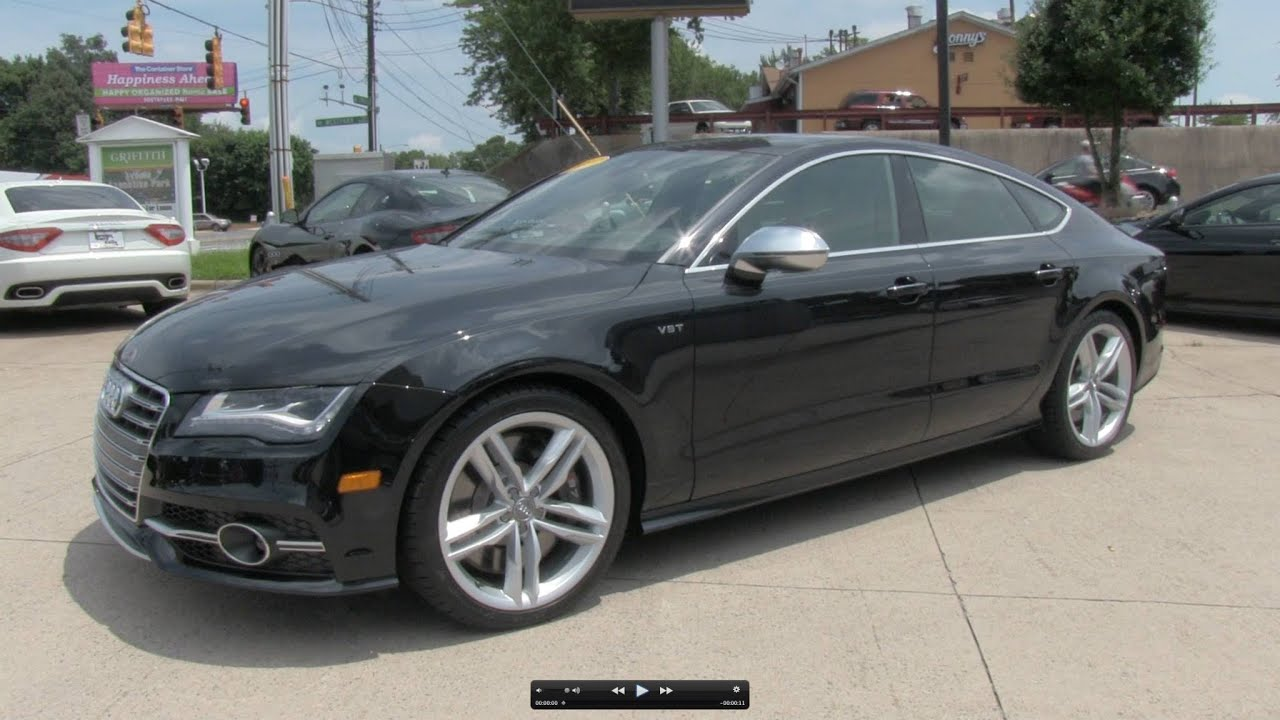 2013 audi s7 sportback prestige start up exhaust and in. Black Bedroom Furniture Sets. Home Design Ideas