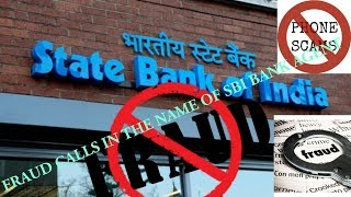 SBI BANK FRAUD CALL LIVE RECORDED | BEWARE OF PHONE SCAMS | ATM FRAUD |IN HINDI