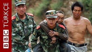Çin'in Yunnan eyaletinde deprem anı - BBC TÜRKÇE
