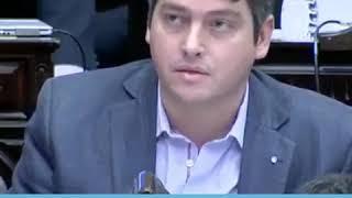 Video: Encendida defensa de Malvinas del diputado Martín Perez en el Congreso